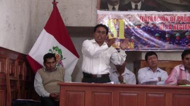Alcalde de Chaparra denuncia derrame de cianuro en operativo minero