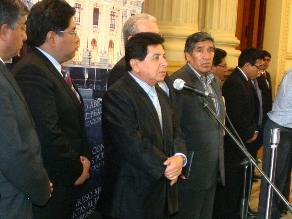 Perú Posible y PPC-AP decidieron dar respaldo al gabinete Cornejo