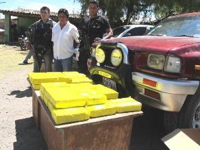 Pisco: decomisan más de 36 kilos de alcaloide de cocaína