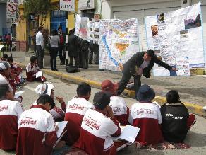 Municipalidad y gobierno regional ejecutan obras escolares sin permiso