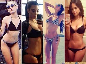 Famosas disfrutan sus vacaciones en bikini y presumen en redes