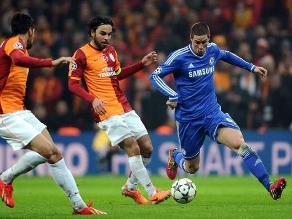Incidencias del Chelsea vs. Galatasaray por la Champions League