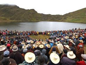 Cajamarca: 200 ronderos pernoctan en zona de minera Yanacocha
