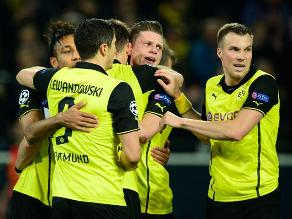 Champions League: Borussia Dortmund pasa susto pero clasifica a cuartos