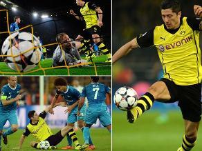 Revive la clasificación del Borussia Dortmund en Champions League