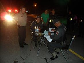 Chiclayo: Policía de Carreteras recupera auto robado