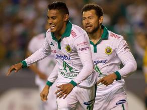 León de México golea 3-0 a Emelec y lidera grupo de Copa Libertadores