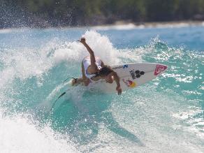 Sofía Mulanovich aclaró que nunca se retiró del surf profesional