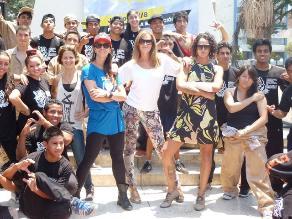 Kina Malpartida y Vania Masías presentaron el Festival ´Pura Calle 2014´