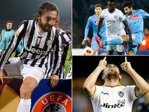 Repasa resultados y clasificados a cuartos de final de Europa League