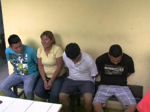 Trujillo: Capturan a banda que pretendía asaltar centro comercial
