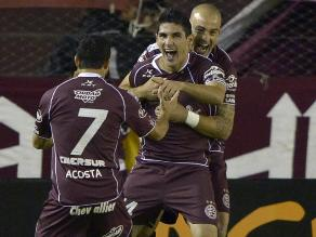 Lanús vuelve a la vida en Libertadores tras vencer a Deportivo Cali