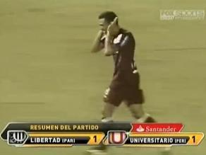 Universitario no convierte un gol en Libertadores hace cuatro años