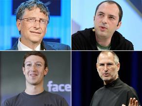 Famosos multimillonarios que se iniciaron como hackers