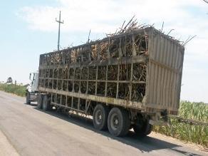Lambayeque: internan tráilers cañeros sin documentación en regla