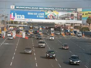 Desde este domingo ya no rige cambio de sentido en la Panamericana Sur