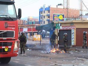 Mineros artesanales vuelven a bloquear carretera en Chala