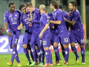 Fiorentina con Juan Vargas superó al Napoli y trepa en la Serie A