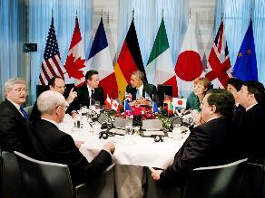 G7 suspende su participación con Rusia