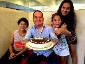 Diosdado Gaitán Castro festejó su día