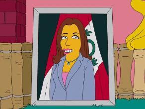 Marisol Espinoza ¿nuevo personaje de Los Simpson?