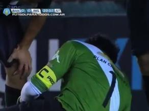 Exarquero de Alianza Lima sufrió una grave lesión en el fútbol argentino