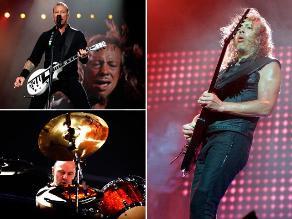 Metallica descarga todo su trash metal por primera vez en Paraguay