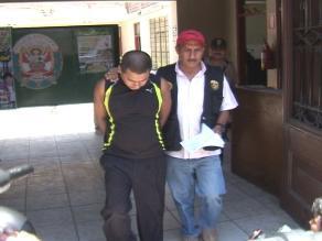 Alcalde del distrito de Santa Cruz fue internado en el penal de Huaraz
