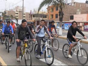 La bicicleta es un medio para evitar congestión vehicular, según experta