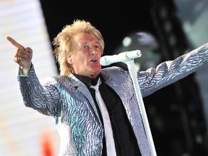 Rod Stewart no tiene pensado en jubilarse a sus 69 años