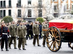 Honores de Estado para Adolfo Suárez en Madrid antes del entierro