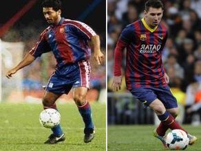 Romario: Fui el Messi de mi época y a los jóvenes les gustaba aprende de mí