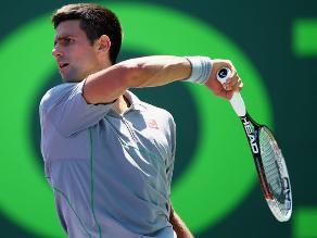 Masters de Miami: Novak Djokovic a cuartos tras vencer a Robredo