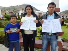 Huamachuco: denuncian al Estado por desaparición de tres escolares