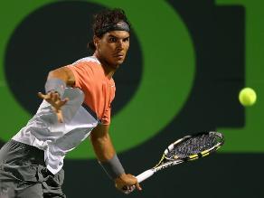 Rafael Nadal sigue firme en la búsqueda de su primer título en Miami