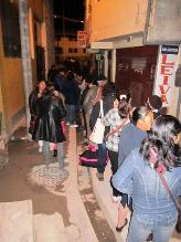 Pasajeros varados en terminal por suspensión de venta de pasajes a Lima