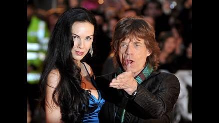 Mick Jagger y familiares despidieron a L´Wren Scott