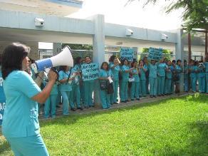 Chiclayo: enfermeras reclaman más personal en hospital Almanzor