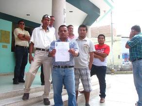 Chiclayo: opositores del alcalde piden garantías para su vida