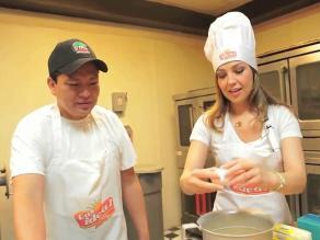 ¿Thalía ahora trabaja en una panadería?