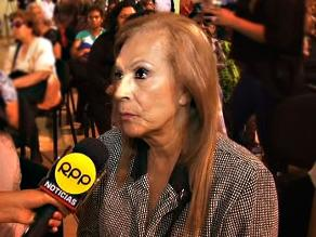 Edith Barr: ´la muerte de Pepe Vásquez nos ha dolido mucho´