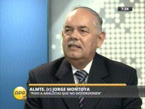 Montoya: Queda pendiente formulación de carta definitiva de navegación
