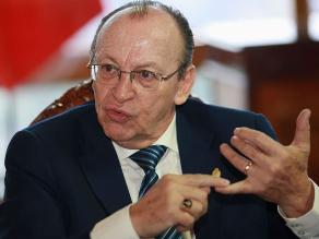 Peláez dispuso cambio del presidente de Junta de Fiscales del Santa