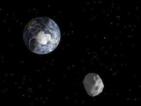 Detectan un asteroide potencialmente peligroso para la Tierra