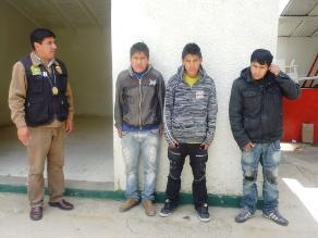 Satipo: policía captura a banda que asaltó farmacia