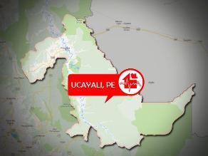 Fuerte sismo remece Ucayali