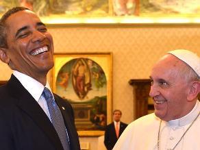Papa y Obama hablaron de la reforma migratoria y la defensa de la vida