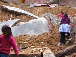 Huancayo: declaran en emergencia anexos de Santo Domingo de Acobamba