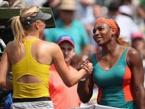 Serena Williams pasa a la final en Miami tras derrotar a Maria Sharapova