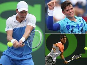 Tomas Berdych está en semifinales de Miami y espera a Nadal o Raonic